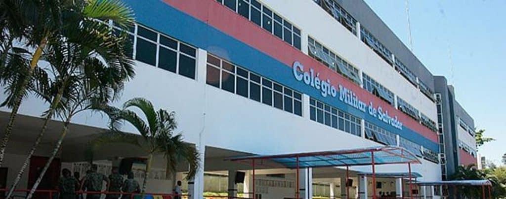 entrada do colégio militar de salvador